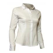Elegancka koszula damska slim fit biała