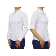 Elegancka koszula damska biała taliowana SLIM
