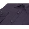 Koszula męska Slim-Fit Fioletowa Śliwkowa z mankietem na spinki lub guzik