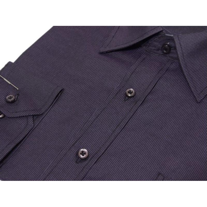 Koszula męska uszyta z tkaniny w kolorze śliwkowym, sklep