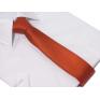 Krawat ŚLEDŹ KORALOWY czerwony