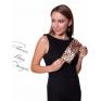 Duży portfel damski tworzywo ekologiczne lakierowany błyszczący