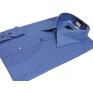 Wizytowa koszula męska regular niebieska