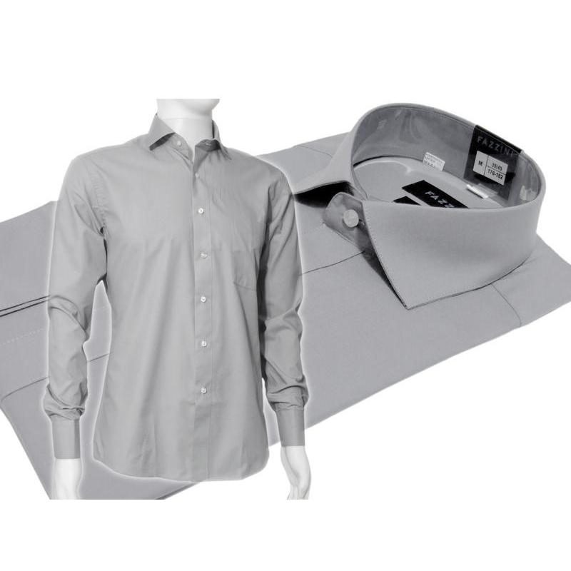 biznesowa koszula slim fit spinki guzik  bzIP6