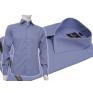 Ciemno-niebieska koszula męska Slim Fit BULLATTI