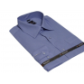 Ciemno-niebieska koszula Slim Fit BULLATTI