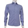 Ciemno-niebieska koszula Slim BULLATTI