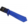Wąski modny krawat CHABROWY + poszetka