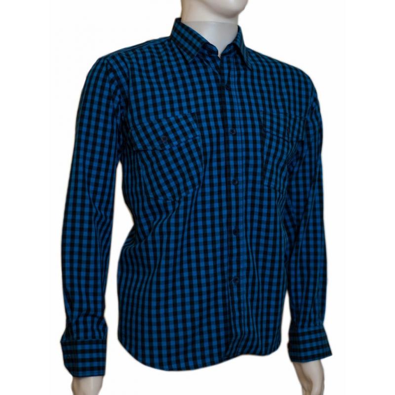 Koszula męska regular ciemnoniebieska