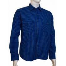 Koszula męska regular chabrowa w kratkę