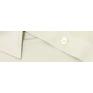 Koszula męska Slim-Fit szara-beżowa dlugi rękaw mankiet na spinki lub guzik. Drobny prążek.