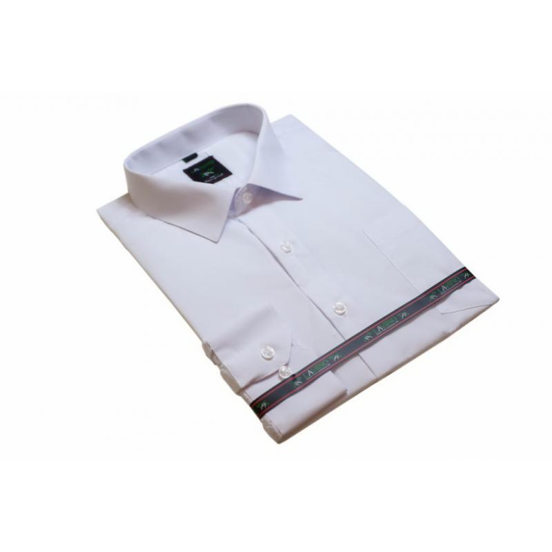 Biała koszula męska elegancka Laviino dl73  NRmOU