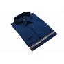 Koszula męska elegancka granatowa Laviino dl127