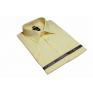 Elegancka koszula męska żółta CYTRYNOWA