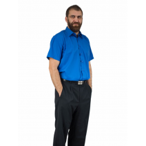Koszula męska szafirowa CHABROWA niebieska LAVIINO