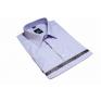Koszula męska wrzosowa bawełniana
