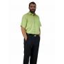 Koszula męska pistacjowa zielona BAWEŁNA
