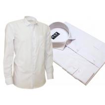 Elegancka biała koszula męska Slim Fit