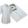 Koszula męska SLIM FIT popielata