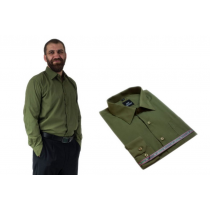 Wizytowa koszula męska ZIELONA