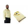 Koszula męska elegancka żółta cytrynowa Laviino dl129