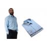 Duża koszula męska błękitna elegancka