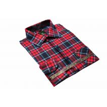 Koszula męska bawełniana w kratkę