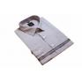 DUŻA koszula męska bawełniana jasnopopielata