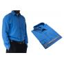 Wizytowa koszula męska klasyczna niebieska Laviino dl100