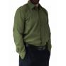 Wizytowa koszula męska zielona elegancka Laviino dl128