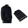 DUŻA koszula męska bawełniana czarna LAVIINO