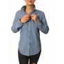 Koszula damska jeans oversize