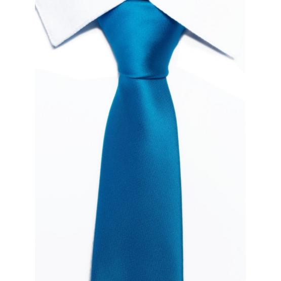 Krawat klasyczny turkusowy