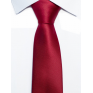 Krawat klasyczny czerwony