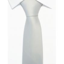Krawat klasyczny kolor biały