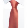 Krawat klasyczny kolor łosoś
