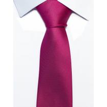 Krawat klasyczny amarant