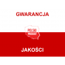Kolorowe skarpety stopki biało-czarna ZEBRA produkt polski