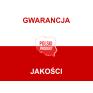 Polskie kolorowe skarpety stopki CZARNO-CZERWONE pasy