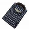 Męska koszula flanelowa niebiesko-granatowa małe i duże rozmiary