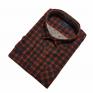 Męska koszula flanelowa granatowo-czerwona małe i duże rozmiary