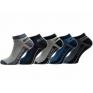 5x Skarpetki stopki niskie skarpety do kostki Active Sport mix kolorów 5 par