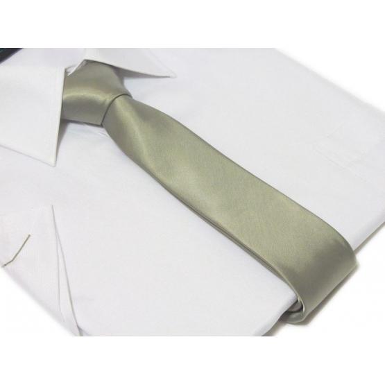 Krawat-ŚLEDŹ SREBRNY
