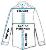 Jak mierzyć koszule męskie. Jak dobrać właściwy rozmiar koszuli męskiej.